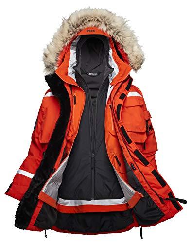 Helly Hansen Herren Arctic Modular Parka, Patrol Orange, L
