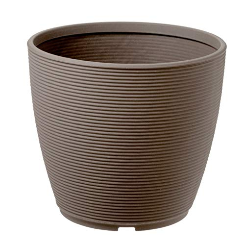 Teraplast Vaso fioriera Tonda Ring Ø38 H32 CM Cappuccino