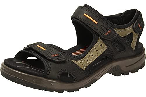 ECCO Herren Offroad Flat Sandal, Black Mole Black, 46 EU