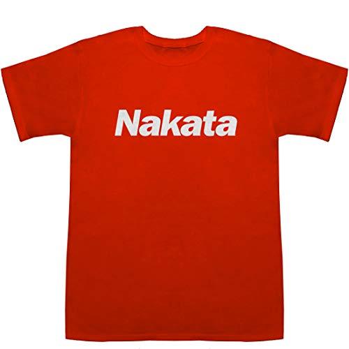 Nakata 中田 仲田 ナカタ T-shirts レッド M【オリラジ】【オンラインサロン 会員数】