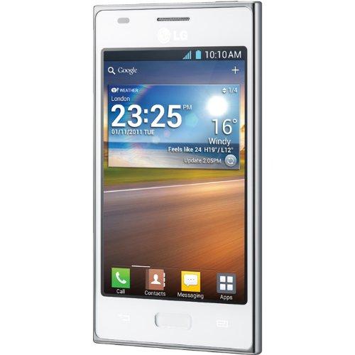 LG E610 L5 Smartphone, Bianco [Italia]