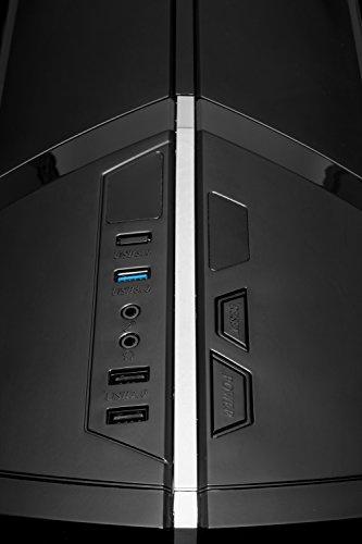 [Ryzen & GTX 1050 Ti Edition] SkyTech Shadow Gaming Computer Desktop PC Ryzen 1200 3.1GHz Quad-Core, GTX 1050 Ti 4GB, 8GB DDR4 2400, 1TB HDD, 24X DVD, Wi-Fi USB, Windows 10 Home 64-bit