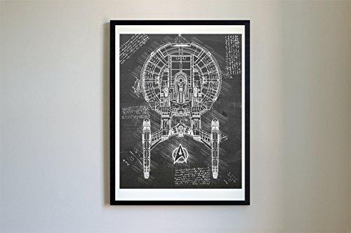 Enterprise da Vinci Sketch