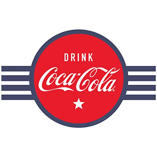 Coca-Cola Drink Coke Red Circle Banner Style Vinyl Sticker