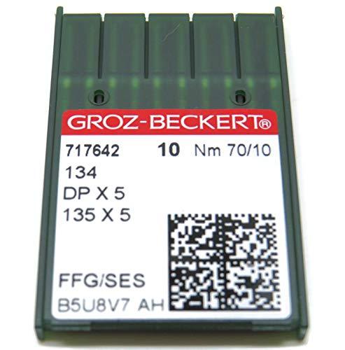 100//16 R 10/groz de beckert redondo pist/ón DPX5/coser agujas Sistema 134/ de la Industria St
