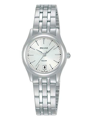 PULSAR Damen Analog Quarz Uhr mit Metall Armband PH7533X1