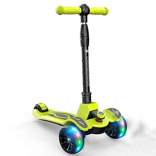 AIOJY Stunt Scooters 2-Wheel with Safety Hand Brake/Foldable Kick Scooter Parent-Child Travel Tool/Scooter for Age 3 Up Kids Best Gift/Freestyle Pro Scooters, Perfect As A Gift (Color : C)