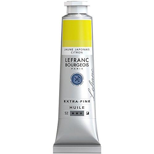 Lefranc & Bourgeois Lefranc Extra Fina Pintura al óleo Artista pigmentos 40ml Tube–Japonés Amarillo Limón