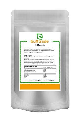 500 g L-Glutamin   Aminosäure Glutamine   Eiweiss   Sport  