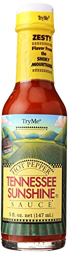 Try Me Sauces Tennessee Sunshine Sauce, 5 Ounce (Pack of 6)