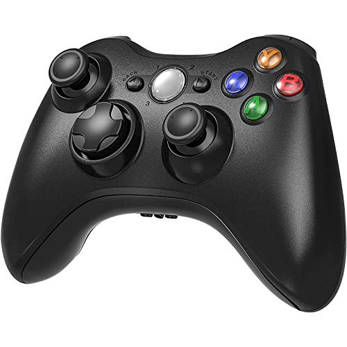 YCCTEAM Wireless Controller für Xbox 360, Gamepad Controller für Xbox 360 Verbessertes Ergonomisches Design Wireless Joypad Gamepad für PC/Xbox 360 (Windows XP/7/8/10)