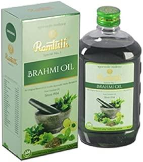 Ramtirath Brahmi Hair Oil-300 Ml -New Pack of 3
