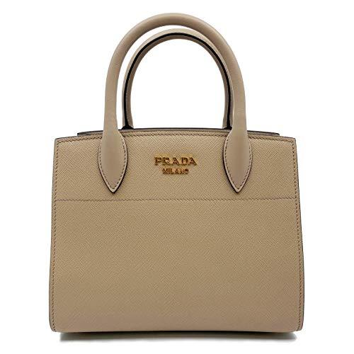 Prada Bibliotheque Cameo Small Leather Womens Bag 1BA0712EVU