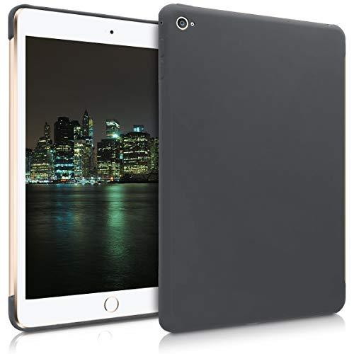 kwmobile Apple iPad Mini 4 Hülle - Tablet Cover für Apple iPad Mini 4 - Schwarz matt - Tab Case Silikon Schutzhülle