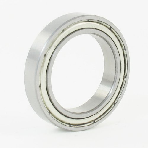 uxcell a13061400ux0770 25mm x 37mm x 7mm 6805Z Radial Shielded Deep Groove Ball Bearing, 0.28000000000000003 inches Width, 1 Metal