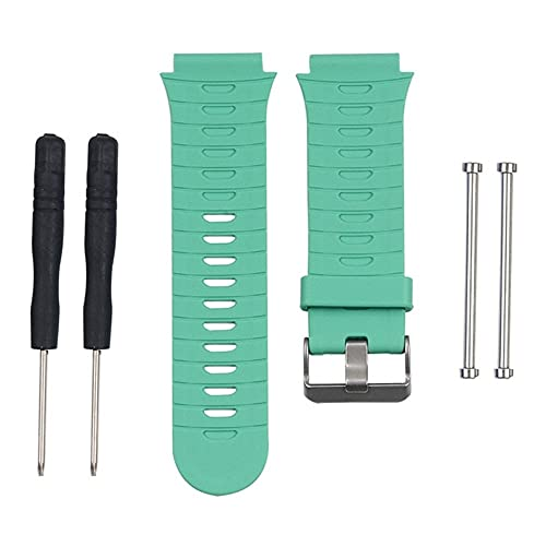 Pulseira Silicone para Relógio Compatível Garmin 920xt Verde