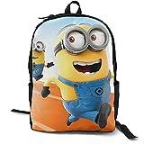 Despicable-Me - Mochila de viaje para ordenador portátil, elegante, casual, mochila de escuela, para hombres y mujeres