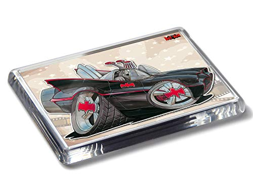 Koolart Cartoon Movie Car Batmobile Classic Batman Starker Acryl Kühlschrankmagnet
