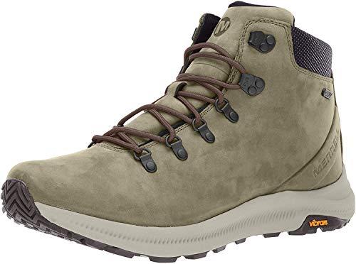 Merrell mens Ontario Mid Waterproof Hiking Shoe, Olive, 8 US