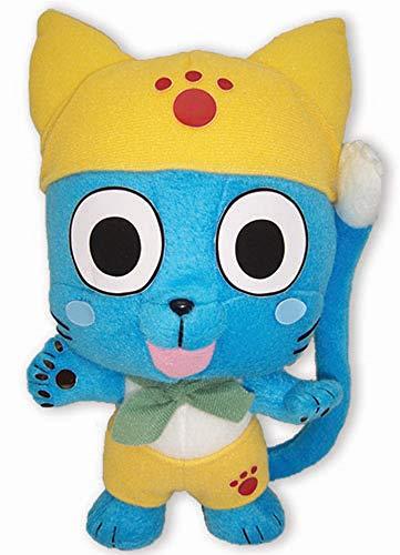Great Eastern Ge52542 Fairy Tail Anime 22,9 cm Happy en Jaune poupée en Peluche