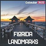 Florida Landmarks Calendar 2022: Official Florida Calendar 2022, 18 Month Photo of Florida Travel calendar 2022, Mini Calendar