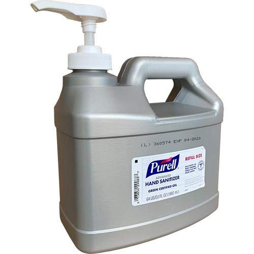 Purell 64 Oz. Advanced Instant Hand Sanitizer Gel Refill