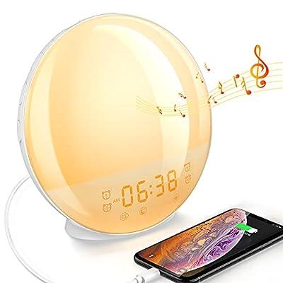 Sunrise Alarm Clock for Bedroom Dekala Dawn Sim...