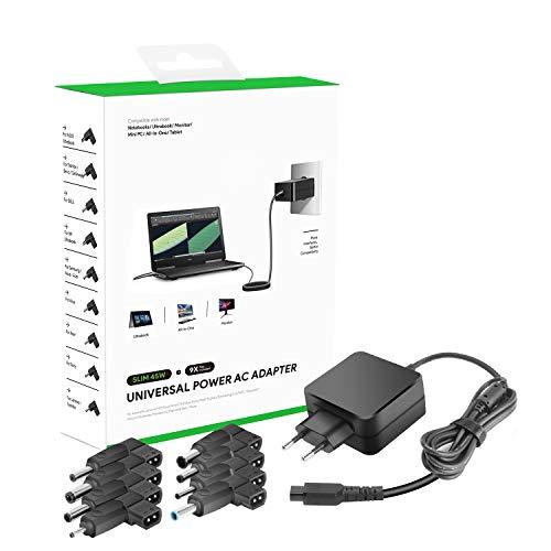 HKY 45W 18.5V 19V 19.5V 20V Adaptador de Cargador Universal para Portátil...