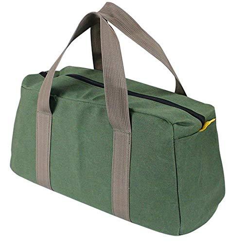 Tonsee Werkzeugtasche Canvas Duffle Bag Large Multifunktionsaufbewahrung Hand Werkzeugtasche...