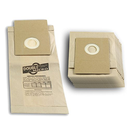 Lot de 10 sacs pour aspirateur The Boss, Powerlite, Hilight aspirateurs équivalents à E82 Sacs Papier
