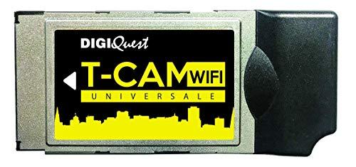 Digiquest T-Cam WiFi Digitale Terrestre Universale, Compatibile con i servizi del digitale terrestre a pagamento