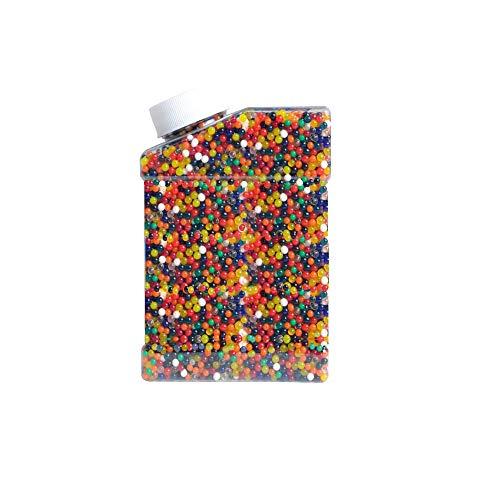 Aweisile Wasserperlen 50000 Stücke Water Beads Wasserkugeln Wassergel Kugeln Mix Wasserperlen Bunt Gelperlen Wasserkugeln für Blumen Pflanzen DIY Regenbogen Dekoration Pflanzen Vase
