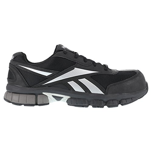 Reebok RB459 Women's Performance Cross Trainer CT Shoe Black/Silver 9 W US