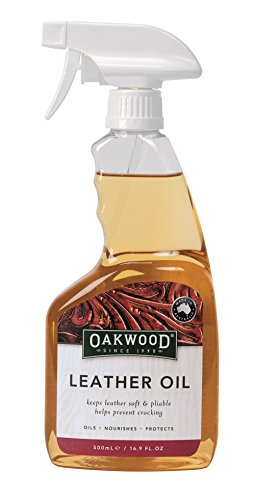 OAKWOOD Lederöl Spray-500 Ml, Clear, Unisex