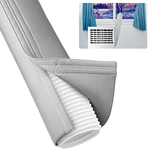 ONQ Copertura per tubo di condizionamento dell'aria condizionata, manicotto di corrente alternata, copertura per tubo di raccordo, facile installazione