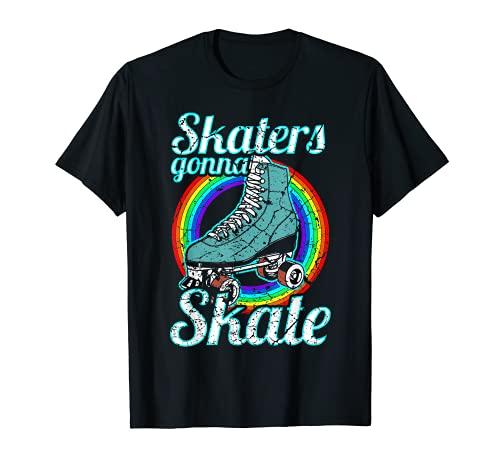 Retro Skaters Gonna Skate Roller Skate T-Shirt