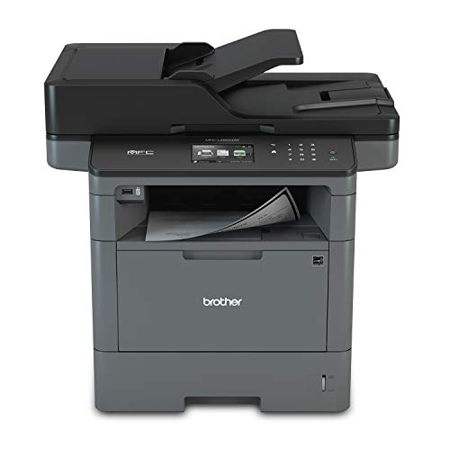 Brother Monochrome Laser Printer, Multifunction Printer, All-in-One Printer, MFC-L5800DW, Wireless Networking, Mobile Printing & Scanning, Duplex Printing, Amazon Dash Replenishment Enabled,Black