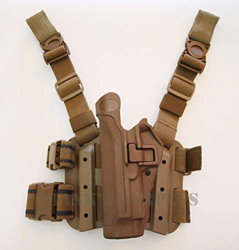BLACKHAWK! Serpa 430504CT-L Holster Beretta 92,96, Tactical Coyote Tan