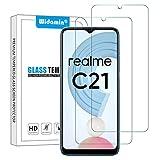 Widamin 2Pack, Protector de Pantalla para Realme C21/ C20, Cristal Templado, [Dureza de 9H], [De Alta Definición], Protector Compatible con Realme C21/ Realme C20