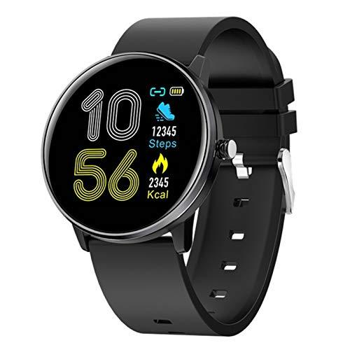 YDK MX6 Bluetooth Deportes Smart Watch Menor de Ritmo cardíaco para Hombres y Fitness Monitor de Ritmo cardíaco IP68 Pulsera de Reloj a Prueba de Agua, Adecuado para Android iOS,E