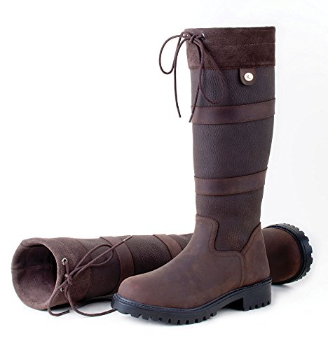 Rhinegold Rhinegold Elite Brooklyn Boot 6 39, unisex, stövel-6 (39), brun, storlek 39