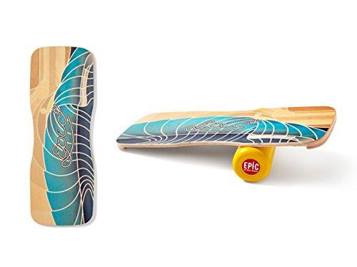 La tabla de equilibrio Epic es un dispositivo de moda y deportivo al mismo tiempo y un imprescindible para cualquier entusiasta de los monopatines, el ocio y los deportes tanto para interiores como para exteriores. La unidad de entrenamiento perfecta...