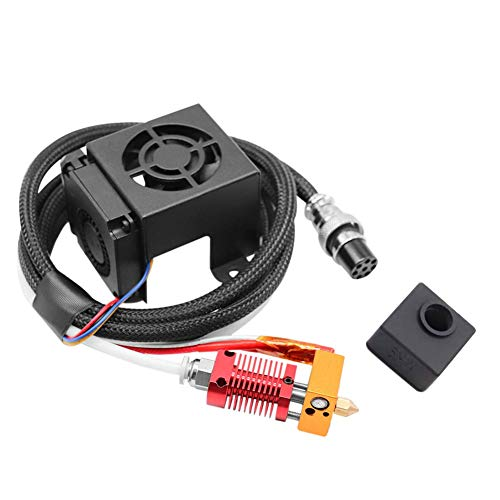 Mk8 Extruder Hot End Kits Mk8 Extruder 3D Printer Extruders Kit Assembly Fully Equipped with Hotend for 3D Printer 12v