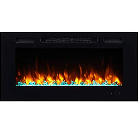 PuraFlame Alice Wall Mounted Electric Fireplace