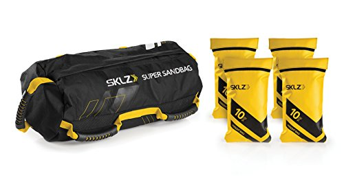 SKLZ Super Sandbag, Heavy Duty Training Weight Bag