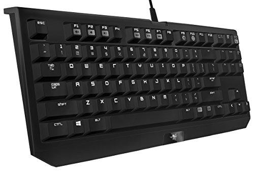 Razer BlackWidow Tournament Edition USB QWERTY Schwarz - Tastaturen (Standard, Verkabelt, USB, QWERTY, Schwarz)