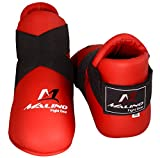 Malino Martial Arts - Protector de pie para Zapatos de Karate, Color Rojo, tamaño Medium