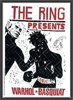 ポスター トーマス キルパー THE RING ウォーホル&バスキア 2000 額装品 ウッドベーシックフレーム(ブラック)