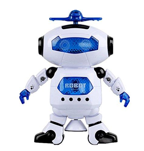 ACMEDE Walking elettronico Ballando Intelligente dello Spazio Robot Astronauta Bambini Musica Leggera Giocattoli