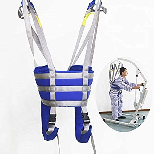 Patient Lift Medical Slings Walking Standing Aids Full Body Transfer Belt Strap for Thigh Hip Waist Lumbar Back Supports Leg Exercise with Padded Buffer Large Load Capacity 503 Lbs